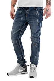 BANGASTIC Waistband Straight Fit Jeans Blue auf oboy.de