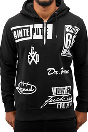 BANGASTIC All In Hoody Black auf oboy.de
