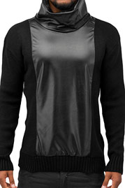 BANGASTIC Turtelneck Sweater Black auf oboy.de