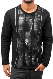 BANGASTIC Elements Sweatshirt Black auf oboy.de