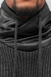 BANGASTIC Knitted Sweater Anthracite auf oboy.de