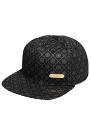 BANGASTIC All-Over Logo Snapback Cap Black auf oboy.de
