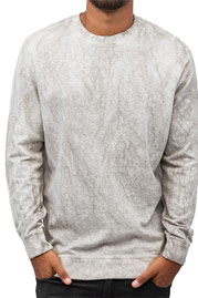 BANGASTIC Acid Sweatshirt Grey Acid Wash auf oboy.de