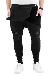 BANGASTIC Kazim Sweatpants Dark Grey/Black auf oboy.de