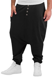 BANGASTIC Aziz Sweat Pants Black auf oboy.de
