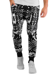 BANGASTIC Anti Slim Fit Sweat Pants Black auf oboy.de