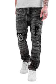BANGASTIC Lucky Anti Fit Jeans Black Wash auf oboy.de