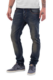 CAZZY CLANG Bass Straight Fit Jeans Dark Blue auf oboy.de