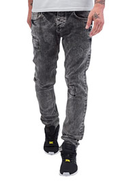 CAZZY CLANG Square Straight Fit Jeans Grey auf oboy.de
