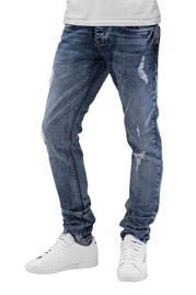 CAZZY CLANG Time Straight Fit Jeans Blue auf oboy.de