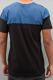 CAZZY CLANG Breast Pocket T-Shirt Black/Blue auf oboy.de