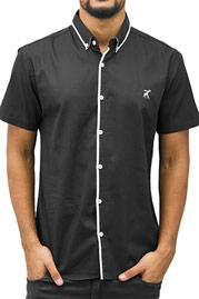 CAZZY CLANG Short Sleeves Shirt Black auf oboy.de