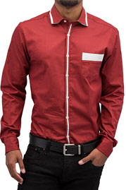 CAZZY CLANG Lion III Shirt Red auf oboy.de