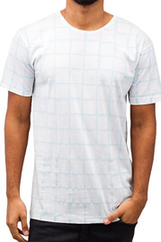 CAZZY CLANG Checked III T-Shirt White auf oboy.de