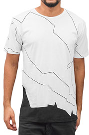 CAZZY CLANG Flash T-Shirt White auf oboy.de