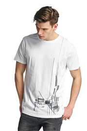 CAZZY CLANG Berkeley T-Shirt White auf oboy.de