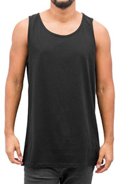 CYPRIME Basic Tank Top Black auf oboy.de