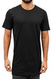 CYPRIME Long Basic T-Shirt Black auf oboy.de