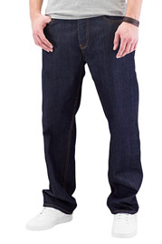 CYPRIME Bazon Loose Fit Jeans Dark Blue auf oboy.de