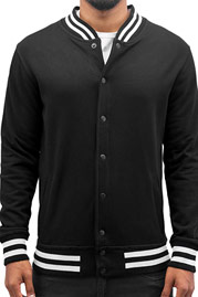CYPRIME College Jacket Black auf oboy.de