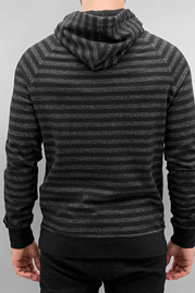 CYPRIME Stripes Hoody Black/Grey auf oboy.de