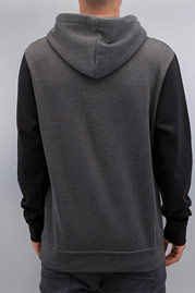 CYPRIME Two Tone Hoody Anthracit/Black auf oboy.de