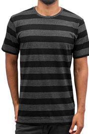 CYPRIME Stripes T-Shirt Black auf oboy.de