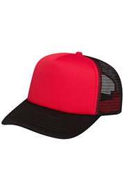 CYPRIME Basic Trucker Cap Red auf oboy.de