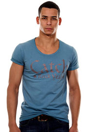 CATCH T-Shirt Rundhals tight fit auf oboy.de