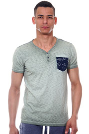 REPLAY T-Shirt V-Auschnitt slim fit auf oboy.de