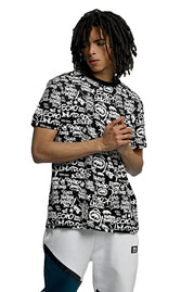 ECKO UNLTD. Allover T-Shirt Black auf oboy.de