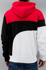 JUST RHYSE Rusher Zip Hoody Red auf oboy.de