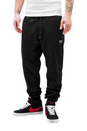 JUST RHYSE Beat Men Sweat Pants Black auf oboy.de