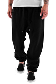 JUST RHYSE Gun Sweat Pants Black auf oboy.de
