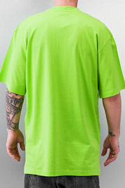 JUST RHYSE And Friends Basic Tall Tee Lime Green auf oboy.de