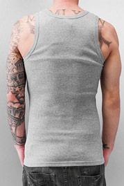 JUST RHYSE And Friends Basic Tank Top Grey auf oboy.de