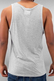 JUST RHYSE Benji Tank Top Grey Melange auf oboy.de