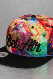 JUST RHYSE Bel Air Snapback Cap Colored auf oboy.de