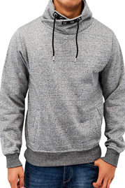JUST RHYSE Collar Sweatshirt Charcoal auf oboy.de