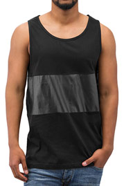 JUST RHYSE Two Goal Tank Top Black auf oboy.de