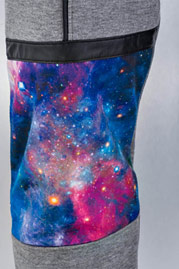 JUST RHYSE Galaxy Sweat Pants Grey Melange auf oboy.de