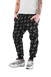 JUST RHYSE High Sweat Pants Black auf oboy.de