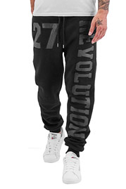 JUST RHYSE Revolution Sweat Pants Black auf oboy.de