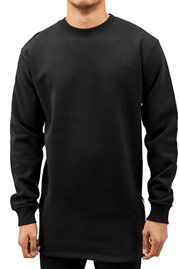 JUST RHYSE Long Sweatshirt Black auf oboy.de