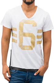 JUST RHYSE 6 T-Shirt White auf oboy.de
