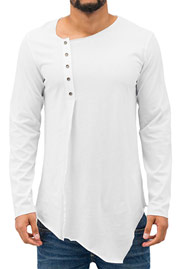 JUST RHYSE Zyon T-Shirt White auf oboy.de