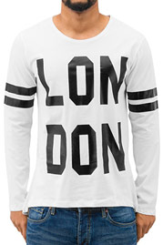 JUST RHYSE London Longsleeve White auf oboy.de