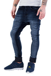 JUST RHYSE Tight Antifit Jeans Blue auf oboy.de