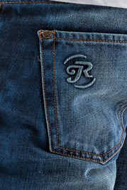 JUST RHYSE Sunny Straight Fit Jeans Blue auf oboy.de