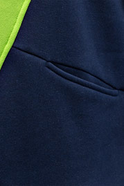 JUST RHYSE Triangle Hoody Navy/Green auf oboy.de